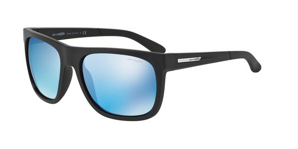 ARNETTE AN4143 FIRE DRILL » MATTE BLACK BLUE MIRROR