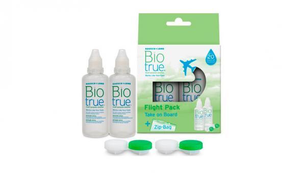 BAUSCH & LOMB Biotrue Solución única Pack Viaje