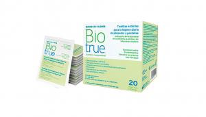 Bausch & Lomb Biotrue Daily Eyelid Wipes