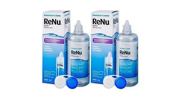 BAUSCH & LOMB Renu Mps Sensitive Eyes Pack 2