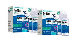 BAUSCH & LOMB Renu Multiplus Flight Pack 2x2
