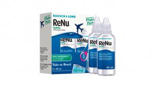 Bausch & Lomb ReNu Multiplus Flight Pack