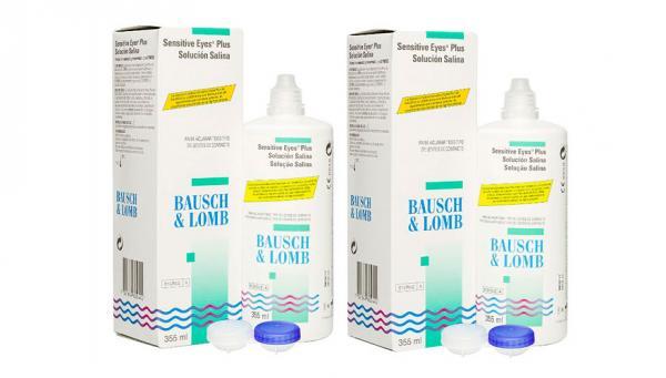 BAUSCH & LOMB Sensitive Eyes Solucion Salina Pack 2