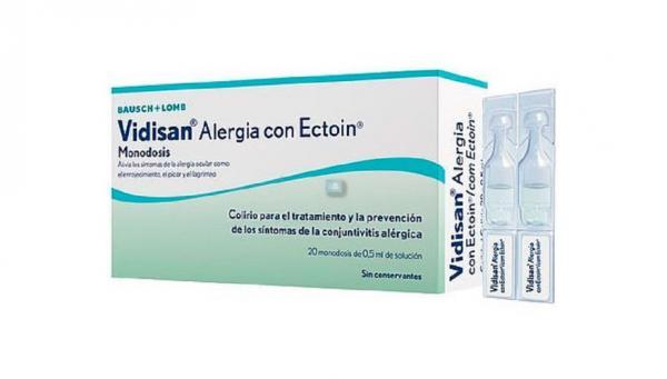 BAUSCH & LOMB Vidisan Alergia Con Ectoin