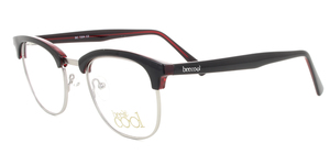 BC7204 C2 BLACK / TRANSPARENT RED