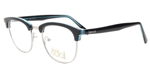 BC7204 C3 BLACK / TRANSPARENT BLUE