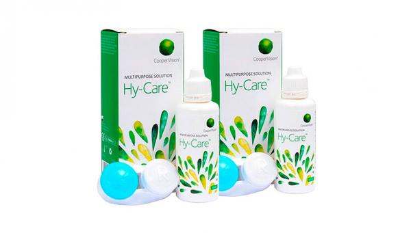 COOPER VISION Hy-care Liquide Nettoyant Voyage Pack 2