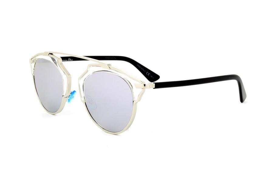 Womens Diorsoreal Nt Sunglasses, Blue Black Vu0, 48 Dior