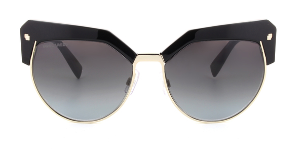 DSQUARED DQ0254 KHLOE » SHINE BLACK / GREY GRADIENT
