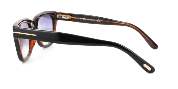 TOM FORD FT0237 SNOWDON (James Bond Spectre) » BLACK GRAY GRADIENT