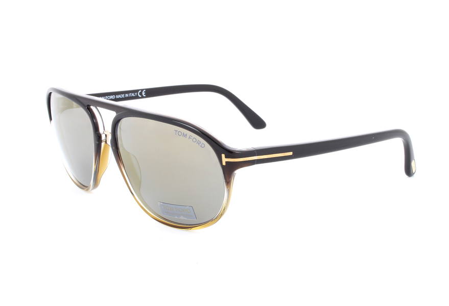 100% quality arriving detailed look Tom Ford Sunglasses FT0447 05C | Visual-Click
