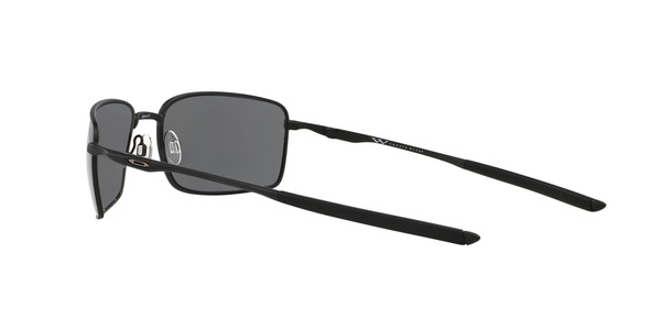 OAKLEY OO4075 SQUARE WIRE » MATTE BLACK BLACK IRIDIUM POLARIZED