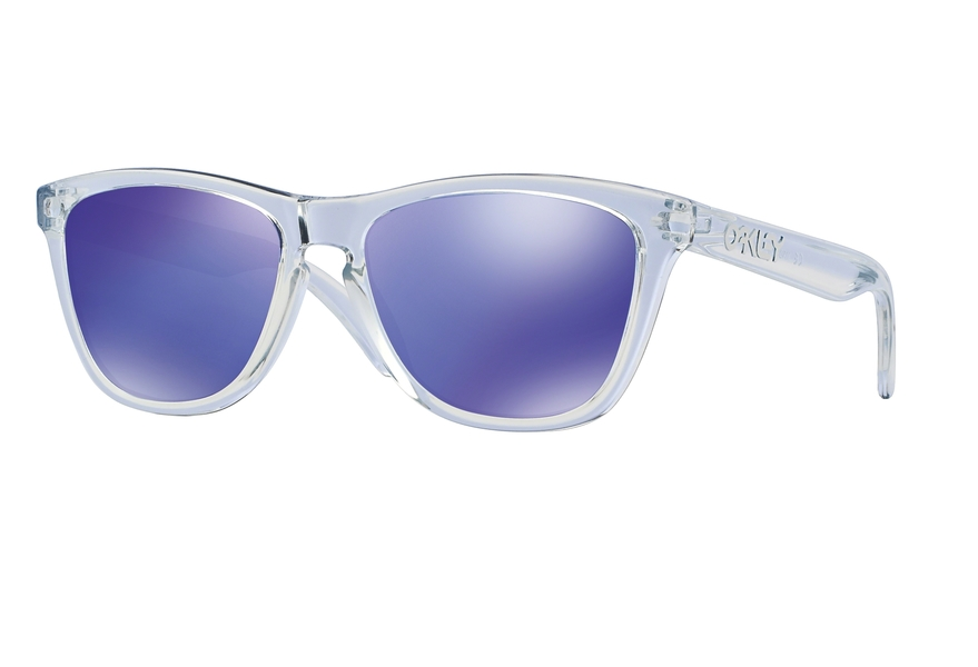 5f7f11b048aa8 ... discount code for oakley oo9013 frogskins polished clear violet iridium  61b78 186ef