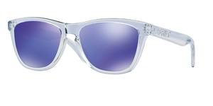Frogskins OO9013-24-305 POLISHED CLEAR VIOLET IRIDIUM