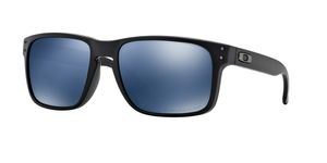 OAKLEY Holbrook OO9102-910252 MATTE BLACK ICE IRIDIUM POLARIZED