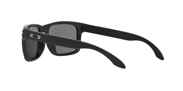 OAKLEY OO9102 HOLBROOK » MATTE BLACK ICE IRIDIUM POLARIZED