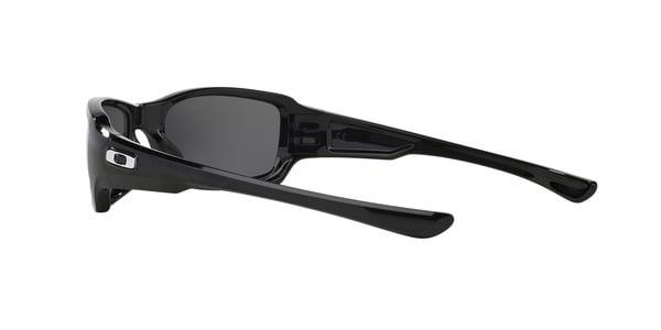 OAKLEY OO9238 FIVES SQUARED » POLISHED BLACK BLACK IRIDIUM POLARIZED