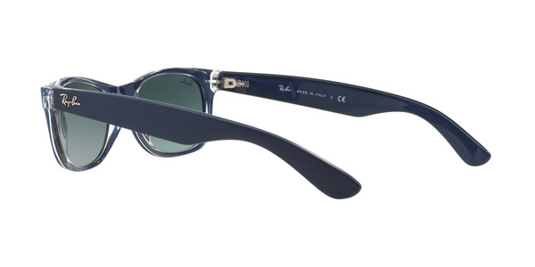 RAY-BAN RB2132 NEW WAYFARER » TOP MATTE BLUE ON TRANSPARENT
