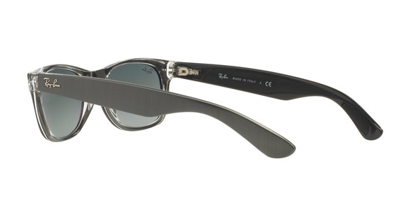 RAY-BAN RB2132 NEW WAYFARER » TOP BRUSHED GUNMETAL ON TRASP