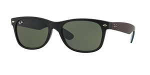 New Wayfarer RB2132 6182 MATTE BLACK