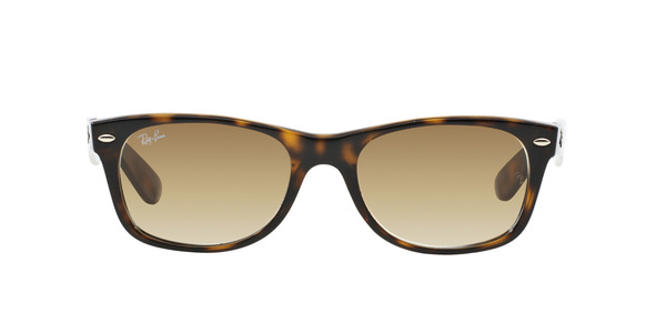 RAY-BAN RB2132 NEW WAYFARER » LIGHT HAVANA/CRYSTAL BROWN GRADIENT