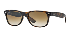 RAY-BAN New Wayfarer RB2132 710/51 LIGHT HAVANA/CRYSTAL BROWN GRADIENT