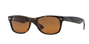 RAY-BAN New Wayfarer RB2132 710 LIGHT HAVANA/CRYSTAL BROWN