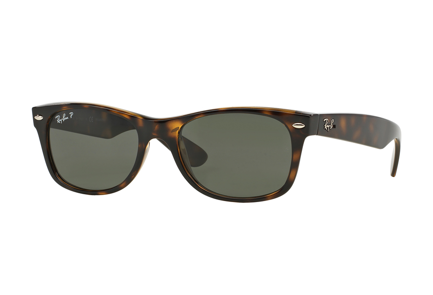 Rb2132 New Wayfarer 902 Tortoise Crystal Green 52/18 145 WvpLsPlk1