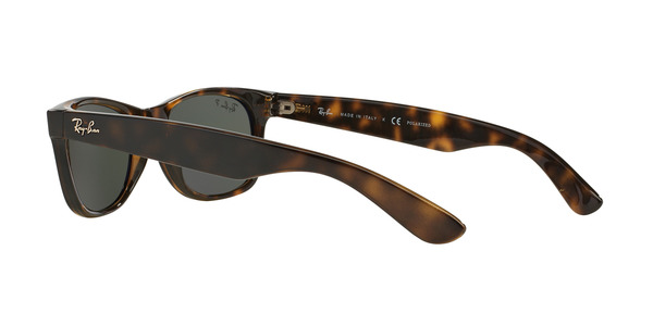 RAY-BAN RB2132 NEW WAYFARER » TORTOISE CRYSTAL GREEN POLARIZED