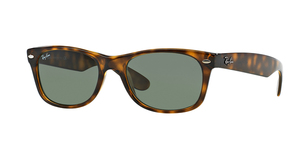 New Wayfarer RB2132-902L TORTOISE CRYSTAL GREEN