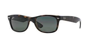 New Wayfarer RB2132-902 TORTOISE/CRYSTAL GREEN