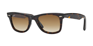 Original Wayfarer RB2140 902/51 TORTOISE CRYSTAL BROWN GRADIENT
