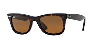 Original Wayfarer RB2140 902/57 TORTOISE/CRYSTAL BROWN POLARIZED