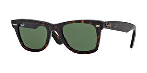RAY-BAN Original Wayfarer RB2140 902 TORTOISE/CRYSTAL GREEN