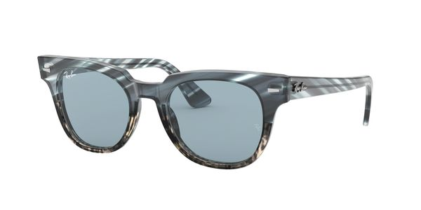 RAY-BAN METEOR » BLUE GRADIENT GREY STRIPPED