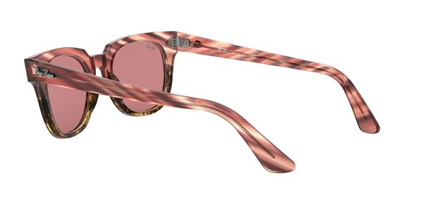 RAY-BAN METEOR RB2168 » PINK GRADIENT BEIGE STRIPPED