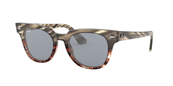 388eb6099f RAY-BAN Meteor RB2168 1254Y5 GREY GRADIENT BROWN STRIPPED