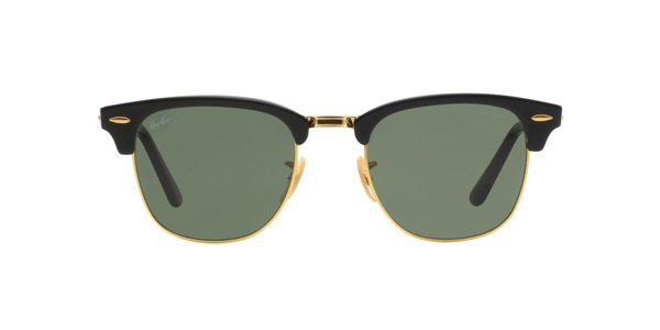 RAY-BAN RB2176 FOLDING CLUBMASTER » BLACK CRYSTAL GREEN