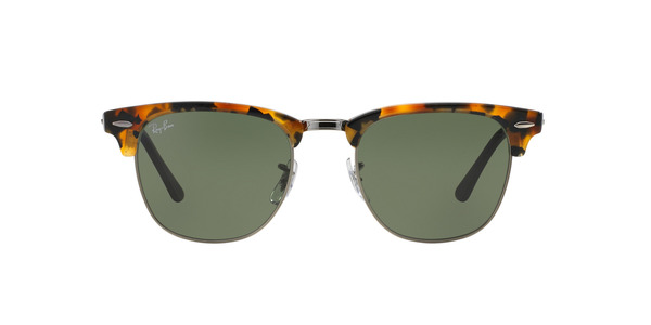 30a1135f18e5d RAY-BAN Clubmaster RB3016 1157 SPOTTED BLACK HAVANA