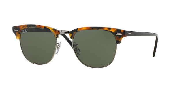 c54054d17be34 RAY-BAN RB3016 CLUBMASTER » SPOTTED BLACK HAVANA ...