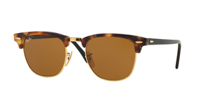 Clubmaster RB3016 1160 SPOTTED BROWN HAVANA