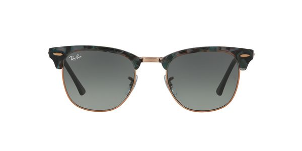 028cc42491 RAY-BAN Clubmaster RB3016-125571 SPOTTED GREY GREEN