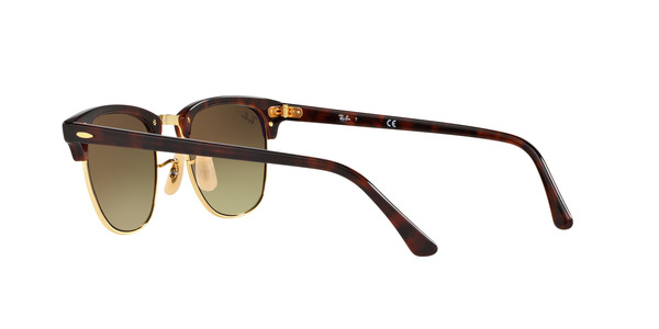 RAY-BAN RB3016 CLUBMASTER » SHINY RED HAVANA COPPER