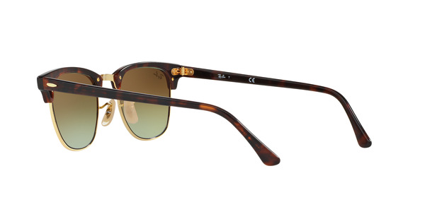 RAY-BAN RB3016 CLUBMASTER » SHINY RED/HAVANA
