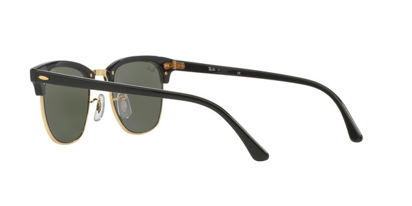... RAY-BAN RB3016 CLUBMASTER » EBONY-ARISTA CRYSTAL GREEN b37f023a13