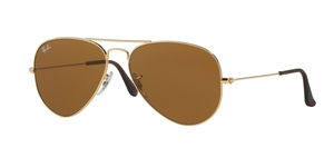 Aviator Large Metal RB3025-001/33 ARISTA/CRYSTAL BROWN