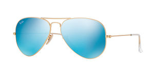 Aviator Large Metal RB3025-112/17 MATTE GOLD