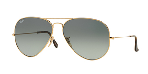 Aviator Large Metal RB3025-181/71 GOLD