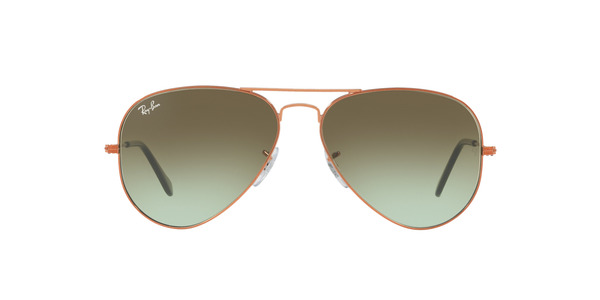 RAY-BAN RB3025 AVIATOR LARGE METAL » SHINY MEDIUM BRONZE
