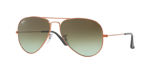 Aviator Large Metal RB3025 9002A6 SHINY MEDIUM BRONZE